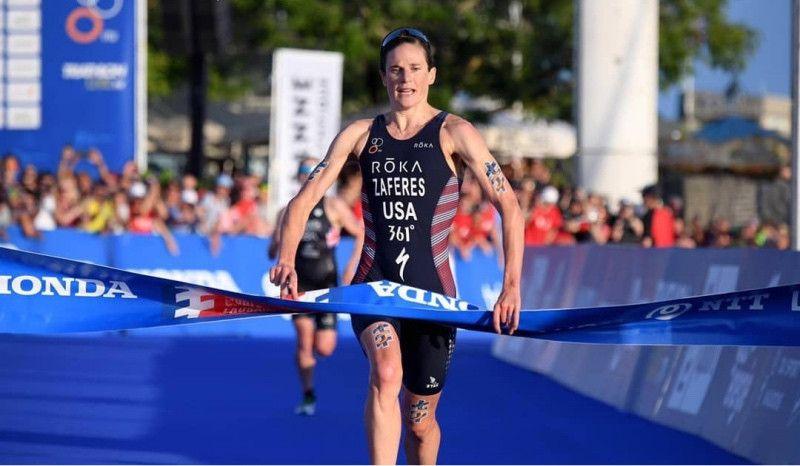 Katie Zaferes, nueva campeona mundial al ganar también en Lausana