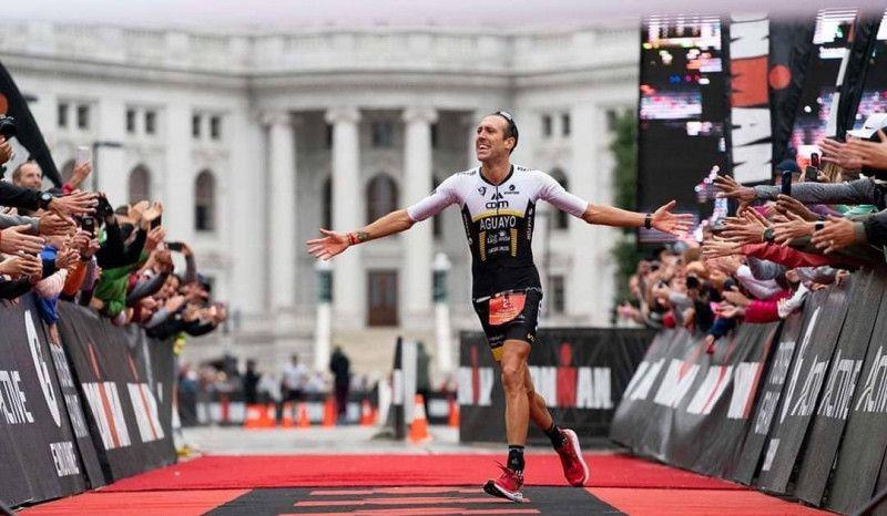 Emilio Aguayo gana el Ironman de Wisconsin y ya tiene billete para Kona 2020