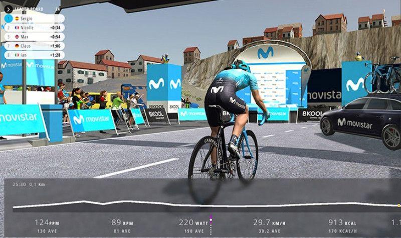 Los 60 mejores ciclistas de Movistar Virtual Cycling lucharán por el título en Festibike