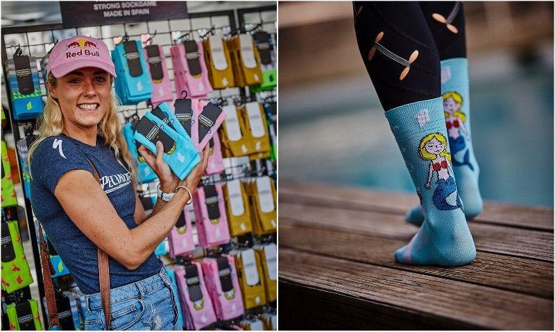 SPORCKS presenta el calcetín diseñado exclusivamente por la vigente subcampeona del mundo Ironman