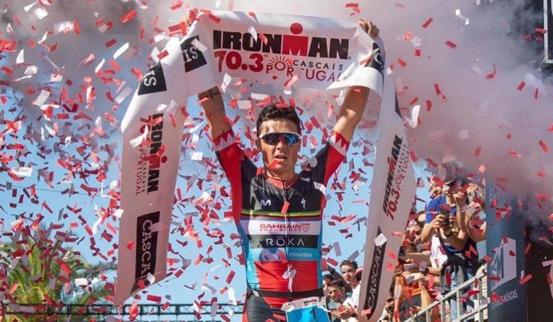 (VÍDEO) Así fue la victoria de Javier Gómez Noya en el Ironman 70.3 de Cascais