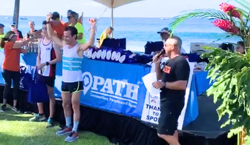 (VÍDEO) ¡Y nuestro enviado especial Álex Santamaría gana en Kona los 5K de la Race & Fun Run!