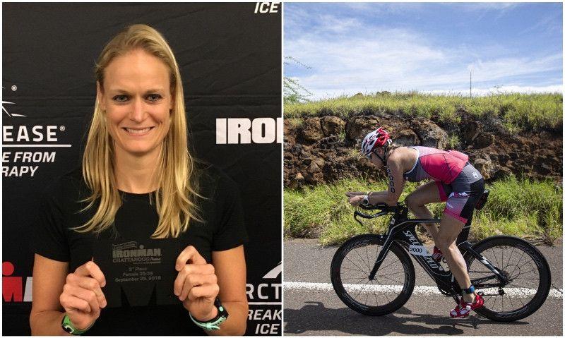 De padecer un cáncer de mama hace una año... a finisher del Ironman de Hawaii