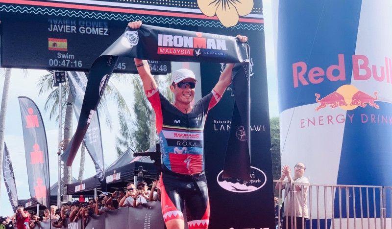 Javier Gómez Noya gana su primer Ironman en Malasia y estará en Kona 2020