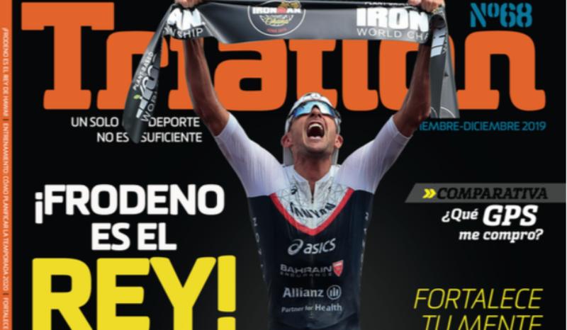¡Ya está a la venta el número 68 de la Revista Triatlón!