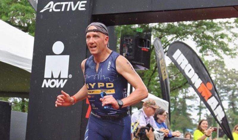 Un triatleta dirige la primera línea de defensa contra el terrorismo en Nueva York