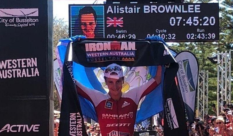 Alistair Brownlee gana con autoridad el IRONMAN Western Australia