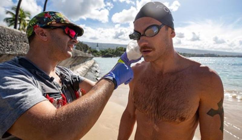 [VÍDEO] El test de Lionel Sanders en la natación de Kona: un kilo menos tras los 3.800 metros