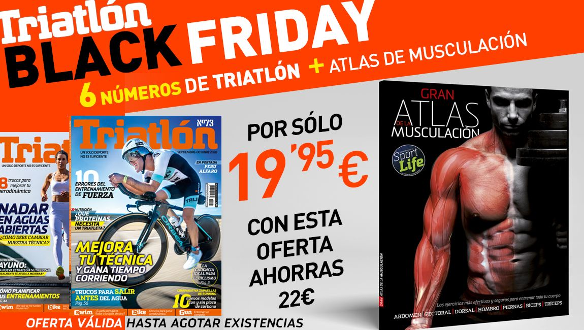 Black Friday TRIATLON 2020+ATLAS