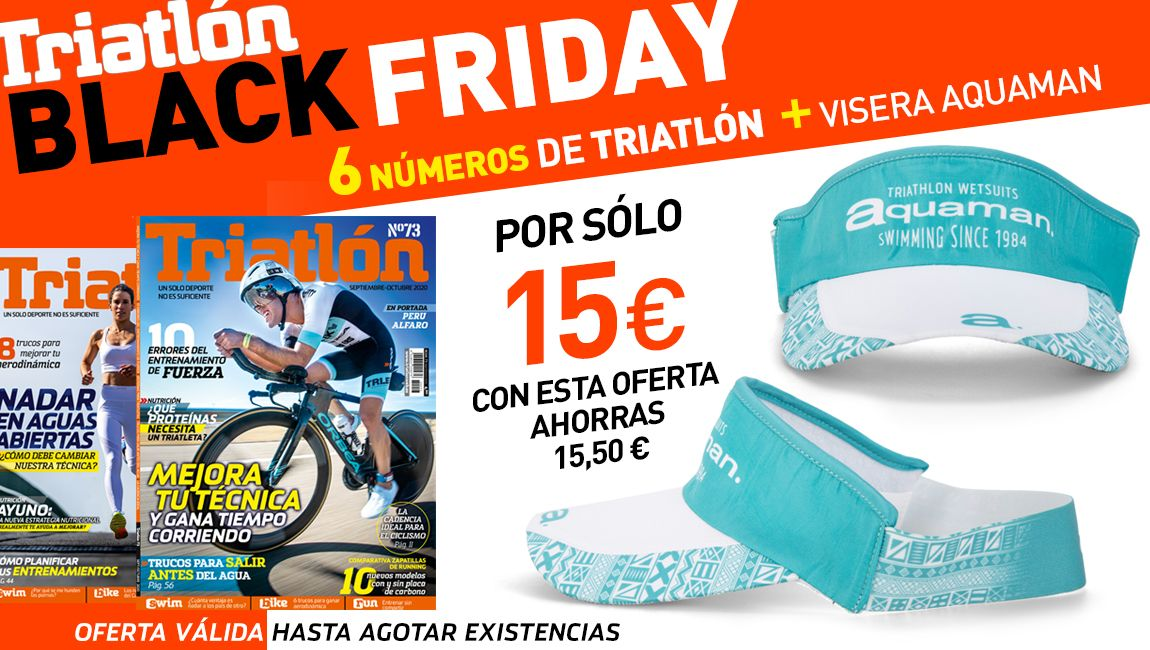 Black Friday TRIATLON 2020+Visera