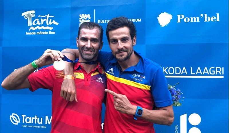 El paratriatlón español consigue seis medallas en el Europeo de Tartu