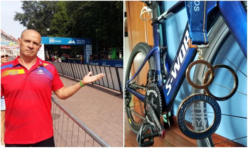 Dapena, Aguayo y 'Guru' Frades recuperan sus bicis... pero 'desaparece' otra
